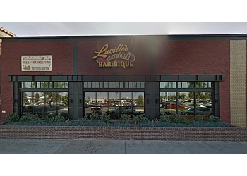 Bakersfield barbecue restaurant Lucille's smokehouse bbq