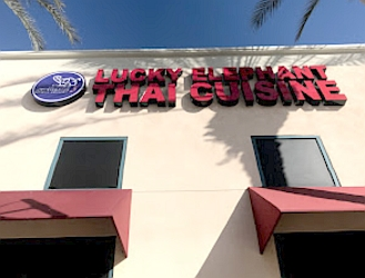 Ontario thai restaurant Lucky Elephant Thai Cusine