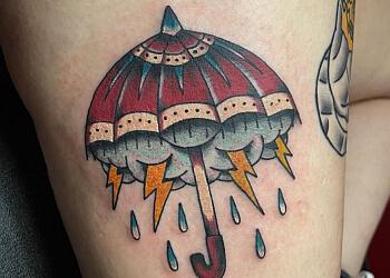 Ann Arbor tattoo shop Lucky Monkey Tattoo