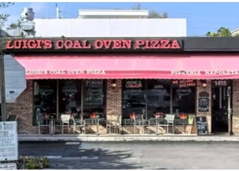 Fort Lauderdale pizza place Luigi's Coal Oven Pizza