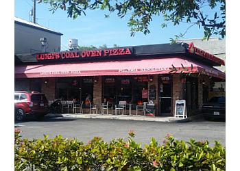 Fort Lauderdale pizza place Luigi's Coal Oven Pizza