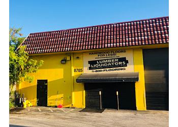Miami flooring store Lumber Liquidators