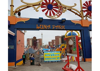 New York amusement park Luna Park