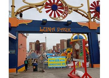 New York amusement park Luna Park in Coney Island