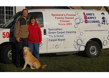 Spokane carpet cleaner Lund's Carpet Cleaning