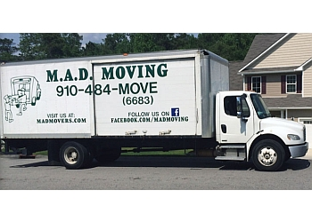 Fayetteville moving company M.A.D. Moving
