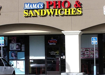 Stockton vietnamese restaurant Mama's Pho and Sandwiches