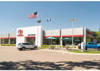 Minneapolis car dealership MAPLEWOOD TOYOTA DEALERSHIP