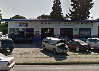 Spokane car repair shop MARTIN'S AUTO SERVICE
