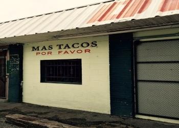 Nashville mexican restaurant MAS TACOS POR FAVOR
