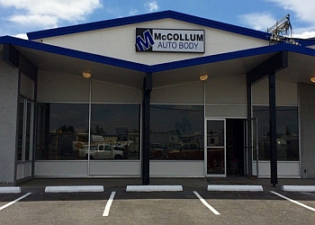 Eugene auto body shop MCCOLLUM AUTO BODY
