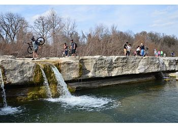 Austin hiking trail MCKINNEY FALLS STATE PARK TRAIL