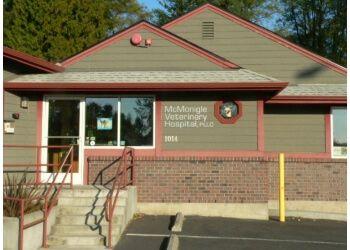 Kent veterinary clinic MCMONIGLE VETERINARY HOSPITAL, PLLC