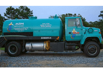 Virginia Beach septic tank service MDM Septic services inc.