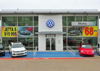 Irving car dealership METRO VOLKSWAGEN