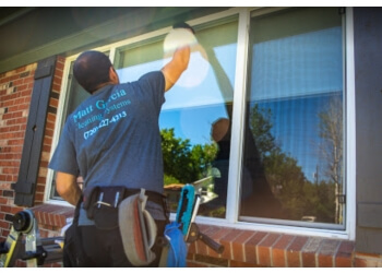 Thornton window cleaner MG Cleaning Systems