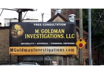Philadelphia private investigation service  M. Goldman Investigations, LLC
