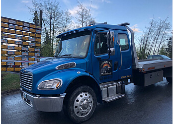 Anchorage towing company MIDNIGHT SUN TOWING