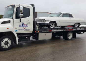 Killeen towing company MID-TEX Towing & Recovery