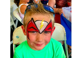 Aurora face painting MIDWEST FUN FACTORY, INC.