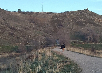 Boise City hiking trail MILITARY RESERVE