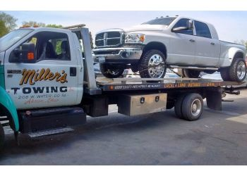 Akron towing company MILLER'S TOWING INC.