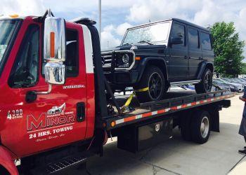 Baton Rouge towing company MINOR ROADSIDE & TOWING LLC