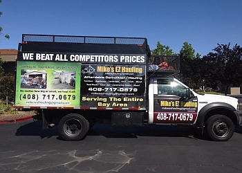 San Jose junk removal MIke's EZ Hauling