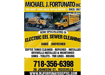 New York septic tank service M.J. Fortunato Septic Tank Cleaning Service Inc.