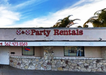 Long Beach rental company M & M Party Rentals