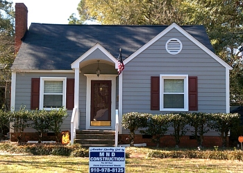 Fayetteville roofing contractor MND Construction