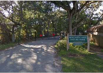 Clearwater hiking trail MOCCASIN LAKE NATURE PARK