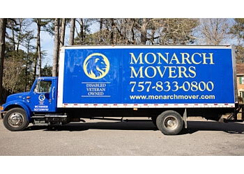 Newport News moving company MONARCH MOVER