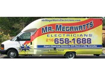 Cleveland electrician MR. MEGAWATTS