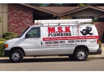 Oakland plumber M.S.K PLUMBING