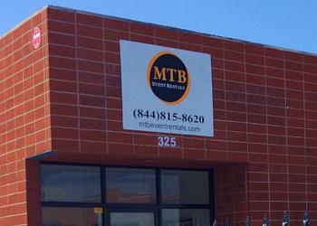 Glendale event rental company MTB Event Rentals