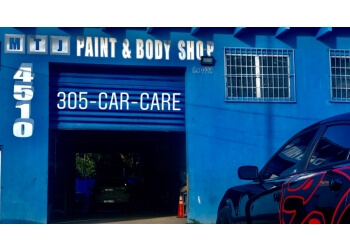 3 best auto body shops in miami fl threebestrated for Best auto body paint shop
