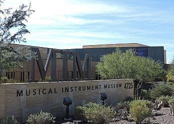 Phoenix places to see MUSICAL INSTRUMENT MUSEUM