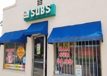 San Bernardino sandwich shop MY HERO SUBS