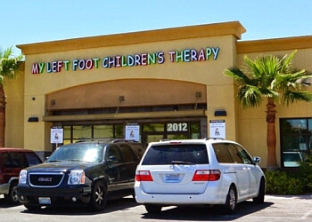Las Vegas occupational therapist MY LEFT FOOT CHILDREN'S THERAPY