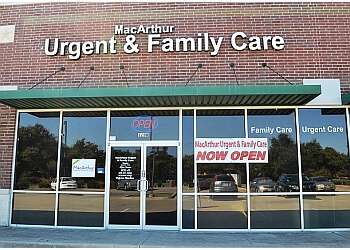 Irving urgent care clinic MacArthur Urgent & Family Care