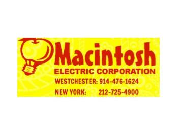 Yonkers electrician Macintosh Electric Corporation