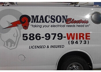 Sterling Heights electrician Macson Electric