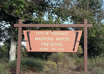 Torrance hiking trail Madrona Marsh Preserve