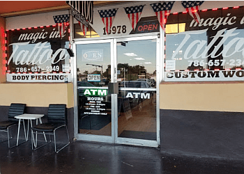 Miami Gardens tattoo shop Magic Ink Tattoo