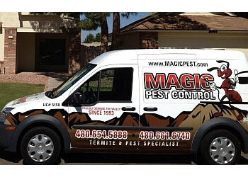 Gilbert pest control company Magic Pest Control