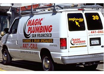San Francisco plumber Magic Plumbing, Inc.