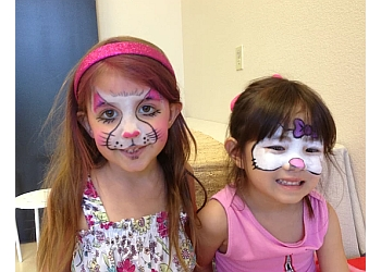 Henderson face painting Magic Wand Face Painting