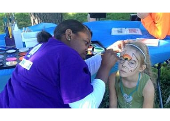 Colorado Springs face painting Magic by Larry Scott
