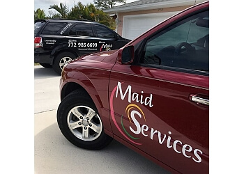 Port St Lucie house cleaning service Maid 4 Services